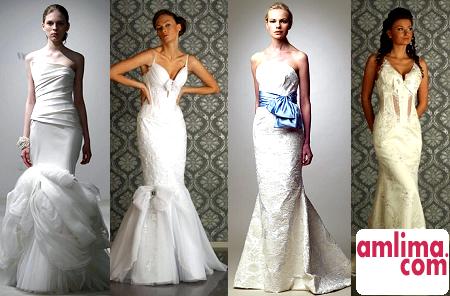 Як вибрати весільну сукню по фігурі: різні фасони суконь