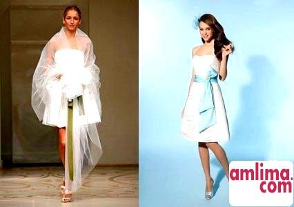 Модні весільні сукні сезону осінь-зима 2010-2015