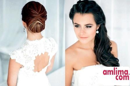 Яку зробити зачіску на весілля? Вибираємо варіанти виходячи з довжини волосся