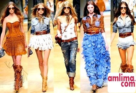 Кантрі стиль в одязі для модників і модниць