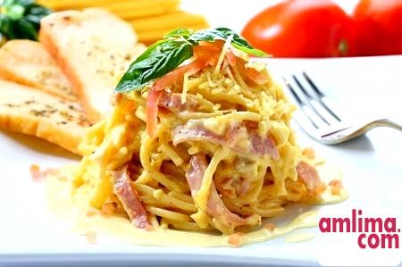Карбонара: рецепт приготування смачної пасти