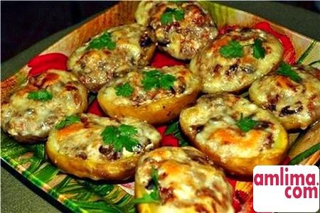 Картопля фарширована - смачно і легко!