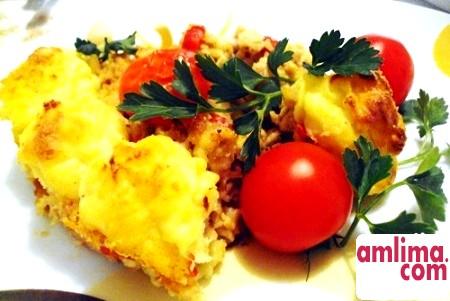Картопляна запіканка з фаршем та сиром: ситний вечеря за півгодини