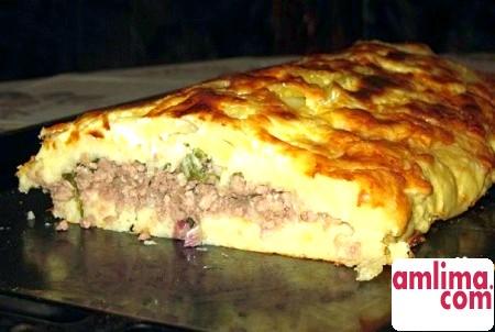 Картопляна запіканка в мультиварці - страва для лінивих