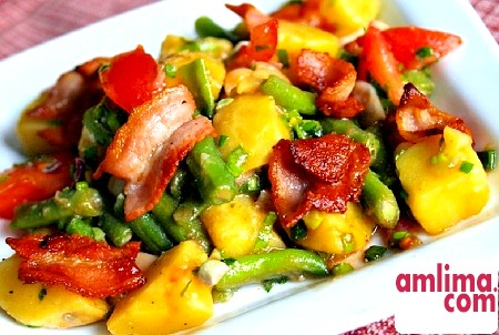Картопляний салат - простенько, але зі смаком