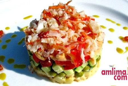 Крабовий салат з огірком - рецепт для свята і буднів