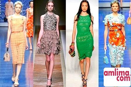 Мереживні сукні 2015: ніжна розкіш і жіночність