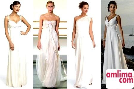 Весільну сукню в грецькому стилі: модні тенденції 2015