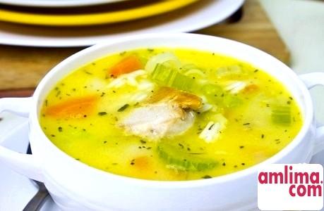 простий рецепт курячого супу