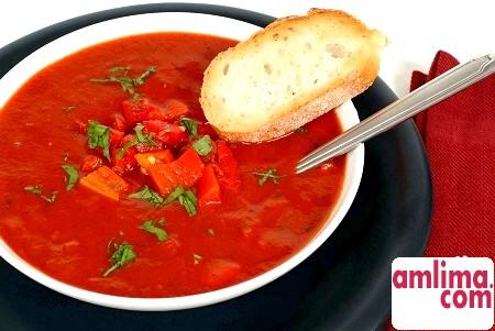 Любителям холодних супів - рецепт супу гаспачо
