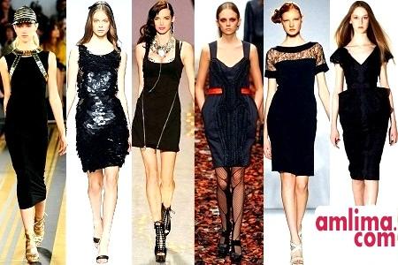 Маленькі чорні сукні - прикраса кожної леді