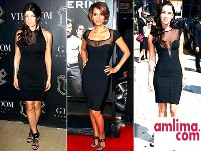 Маленьке чорне плаття: беремо приклад з зірок