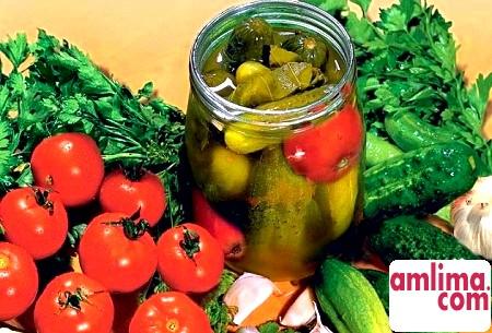 Маринування огірків і помідор