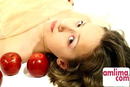 маска з яблука