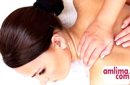 масаж спини і шиї