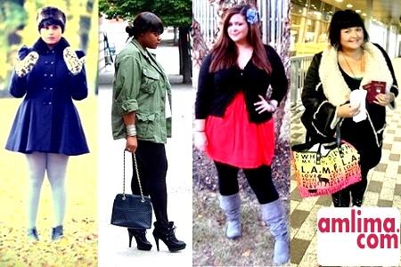 Зимовий одяг для повних жінок. Можливо, доступно і красиво