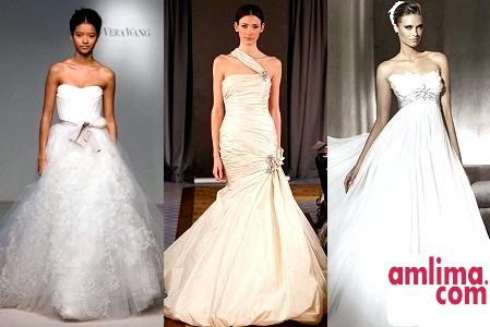 Модні весільні сукні сезону 2014-2015