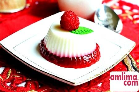 Молочне желе: рецепт ідеального десерту