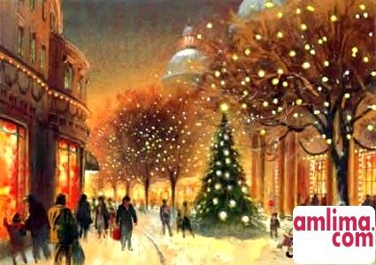 Напередодні Різдва або як з'явився свято