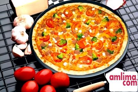 піца тонка рецепт