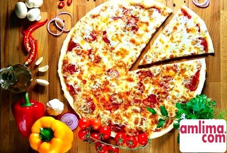 як приготувати тонку піцу