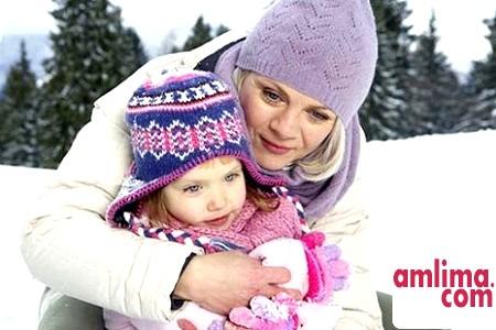 Кілька порад про прогулянку з дитиною в сильний мороз