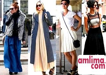 Ніжне чарівність весни та літа модні фасони спідниць 2015