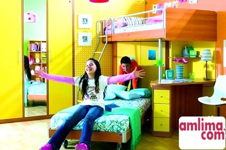 Інтер'єр дитячої кімнати для двох дітей