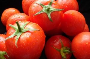 Фото - свіжі червоні помідори