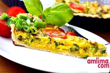 омлет з овочами рецепт
