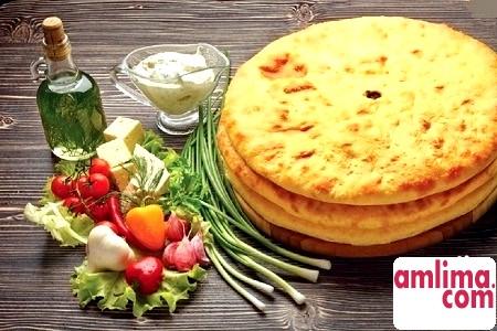 осетинські пироги рецепт з сиром