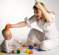 Фото - ігри з дитиною 7 місяців