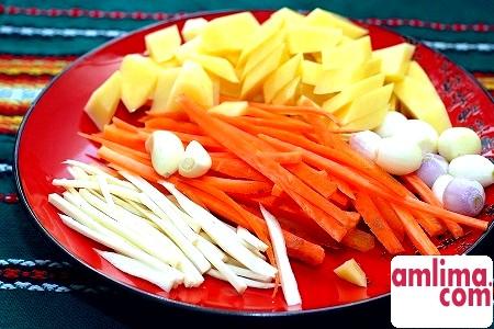 інгредієнти для курячого супу