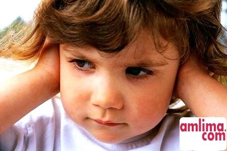 Отит, лікування дитини