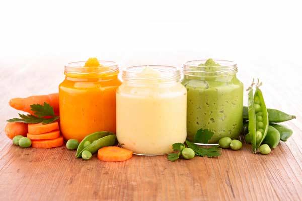 Овочеві пюре для першого прикорму (3 рецепта)