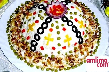 овочевий салат шарами