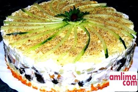 салат овочевий листковий