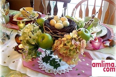 традиційний велікодній стіл