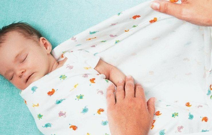 Сповивання новонародженого: