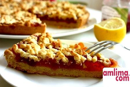 Пиріг з яблучним варенням - мінімум зусиль, максимум задоволення