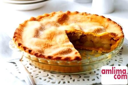 яблучний пиріг з корицею рецепт