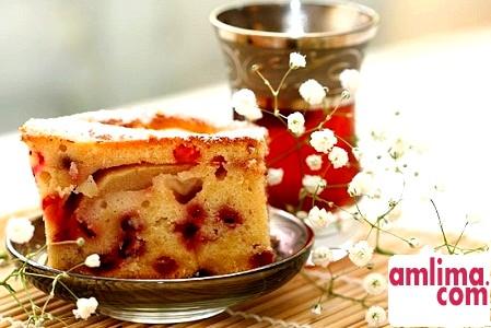 Пиріг з журавлиною - рецепт російської кухні