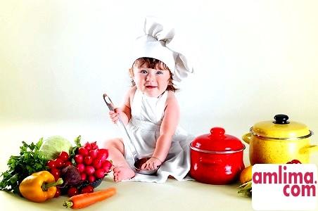 Харчування малюка після року життя