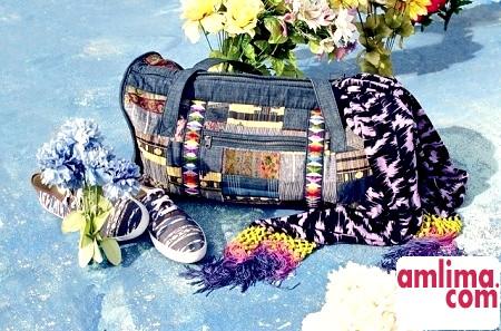 Печворк сумки - модний аксесуар своїми руками