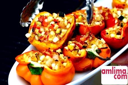 Корисна і некалорійна закуска з болгарського перцю