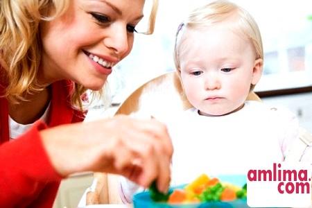 Корисні овочі для дітей до року