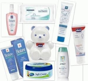 Фото - засоби гігієни для дитини