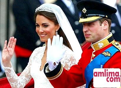 Принц Вільям і Кейт Мідлтон одружилися
