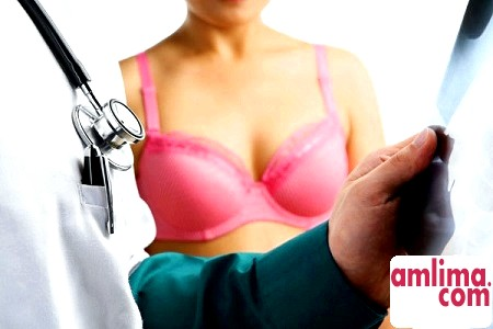 ознаки раку грудей