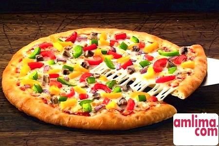 Просто й швидко: піца на кефірі